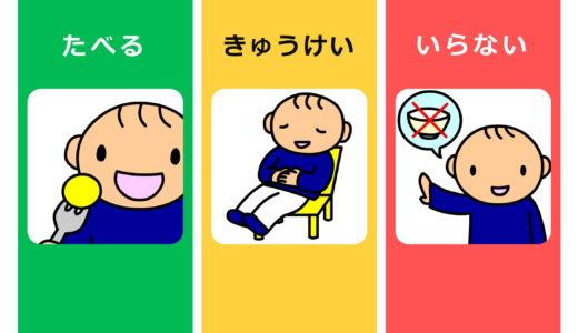 食事場面コミュニケーションボード追加!